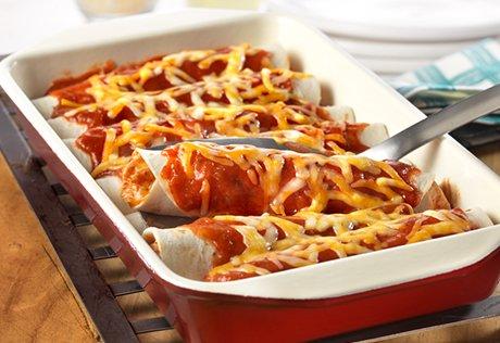 Chicken Enchiladas from The Birch Cottage