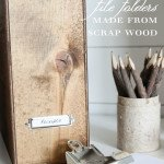 File Folder Box by The Wood Grain Cottage