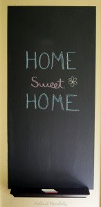 DIY How to Make Chalkboard Paint