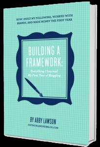 Starting a Blog – Building a Framework eBook