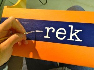 How to Hand-paint Letters on Wood