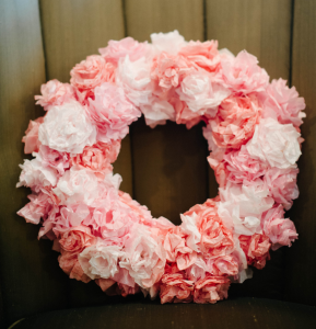 Natalie Bradley Coffee Filter Floral Wreath