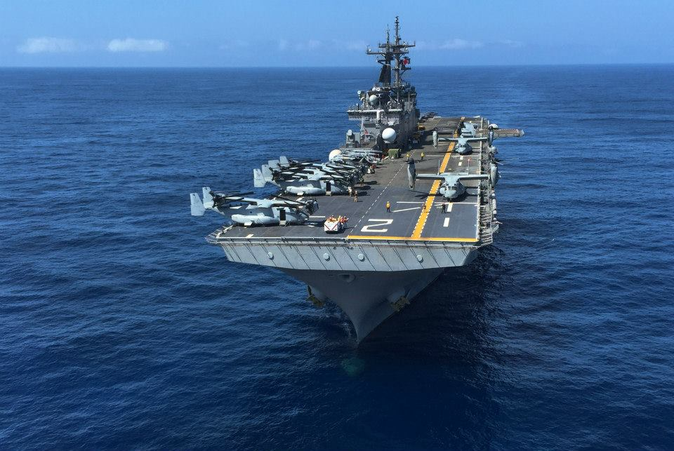 US Navy LHD2