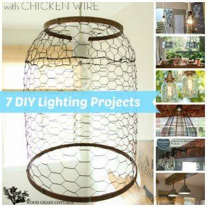 7 DIY Lighting Projects