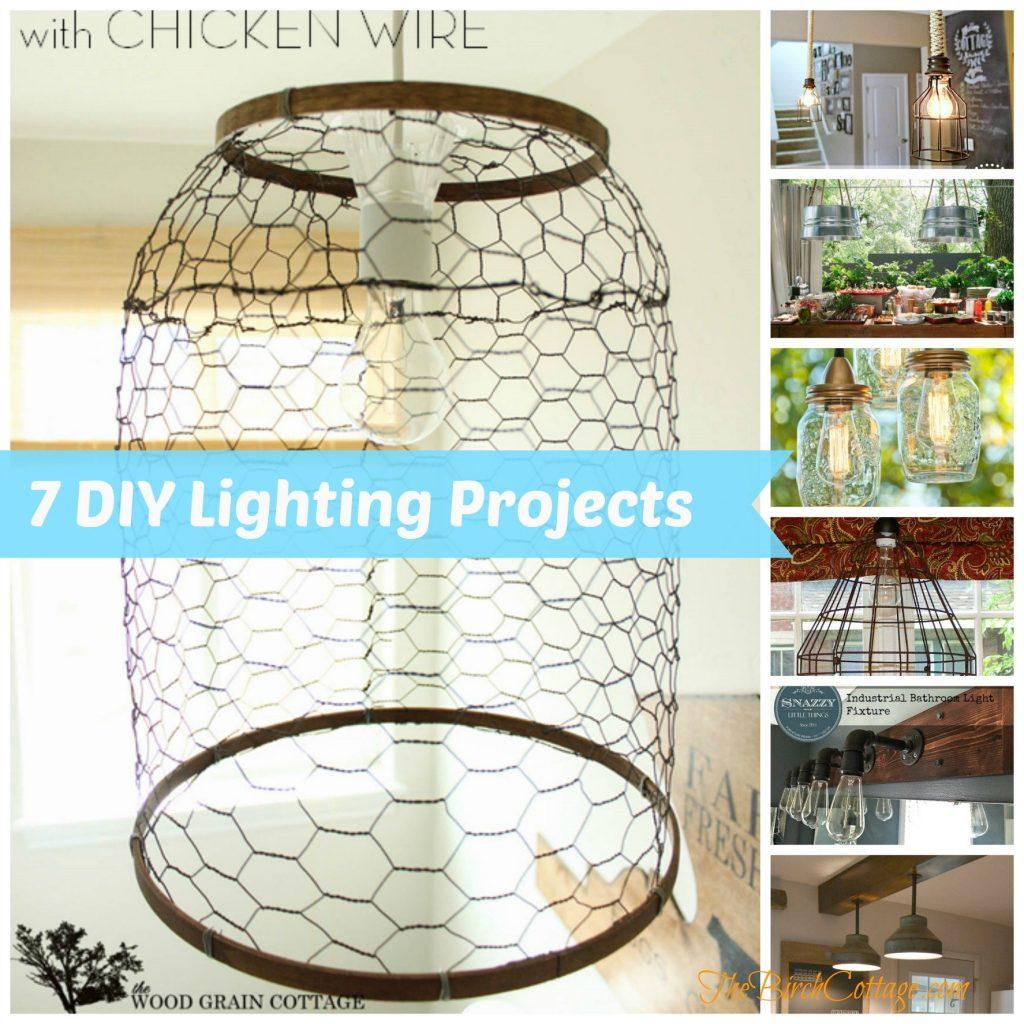 7 DIY Lighting Fixture Projects