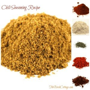 Homemade chili seasoning recipe from The Birch Cottage makes chili making easy.