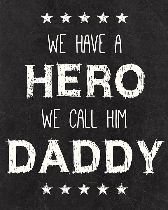 Daddy-Hero-Free-Printable
