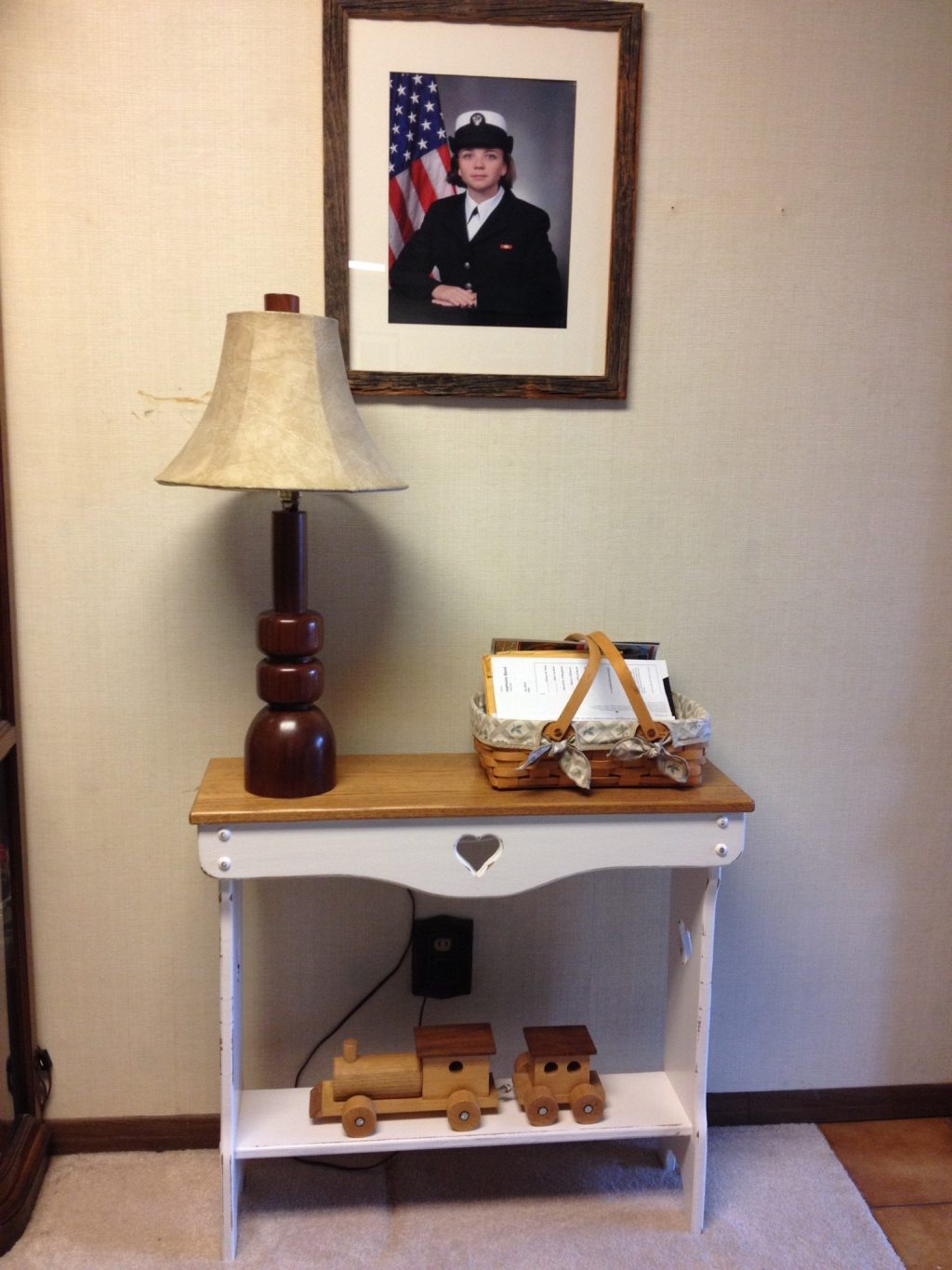 Refinish Furniture Update An Old Console Table Using