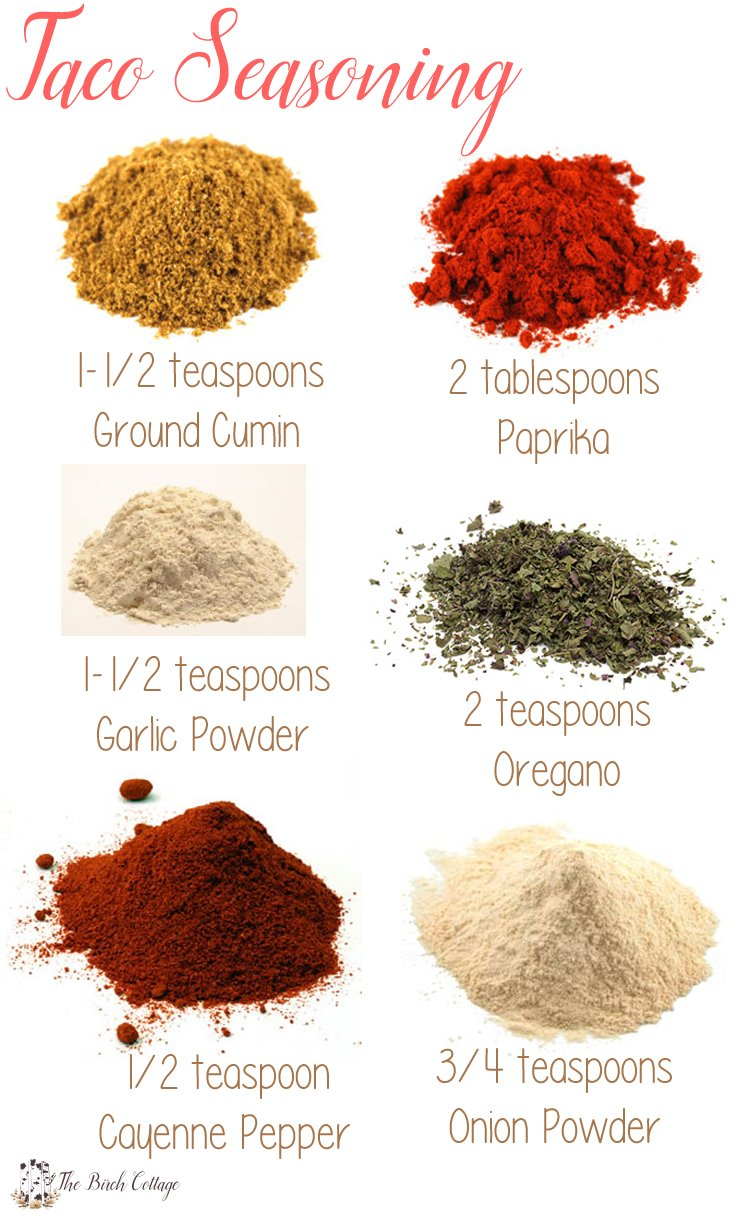 Make This Preservative Free Recipe For Taco Seasoning