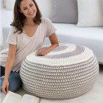 Pouf Crochet Pattern