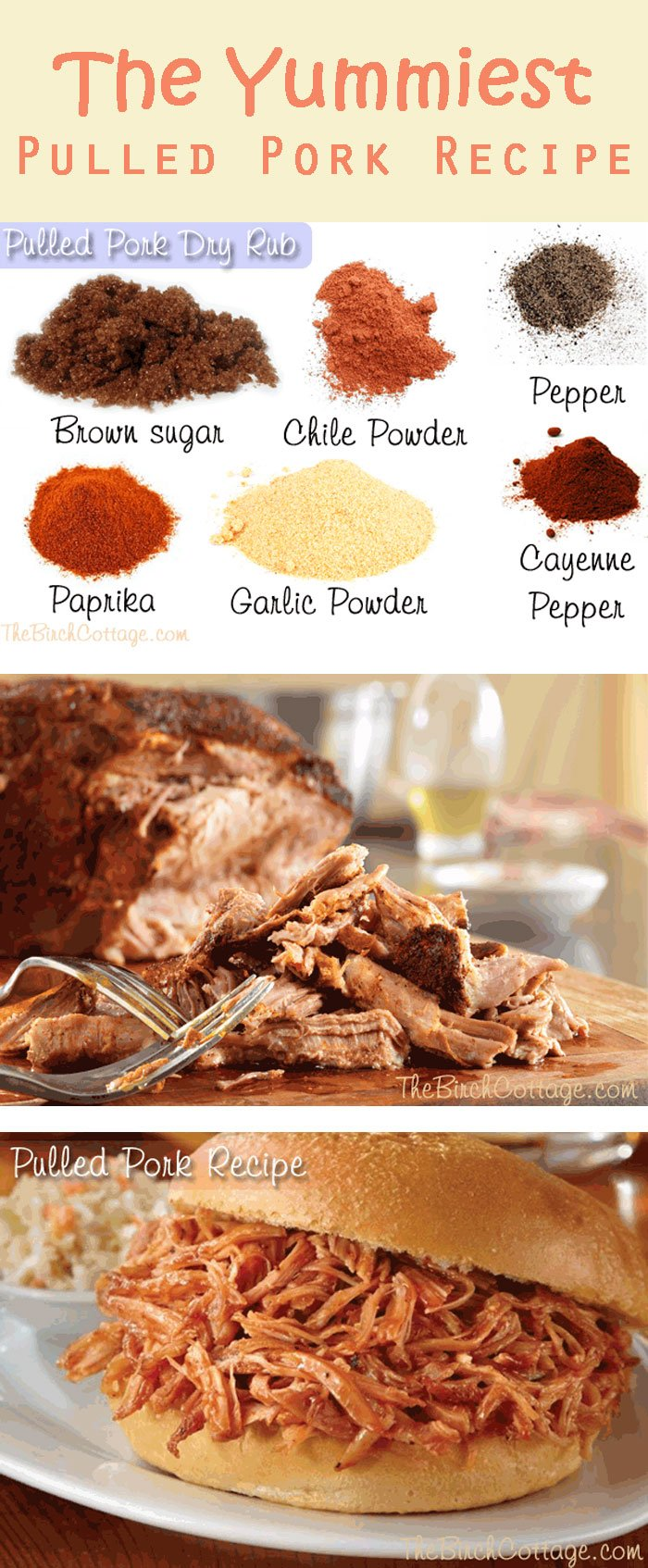 The Yummiest Ever Pulled Pork Recipe