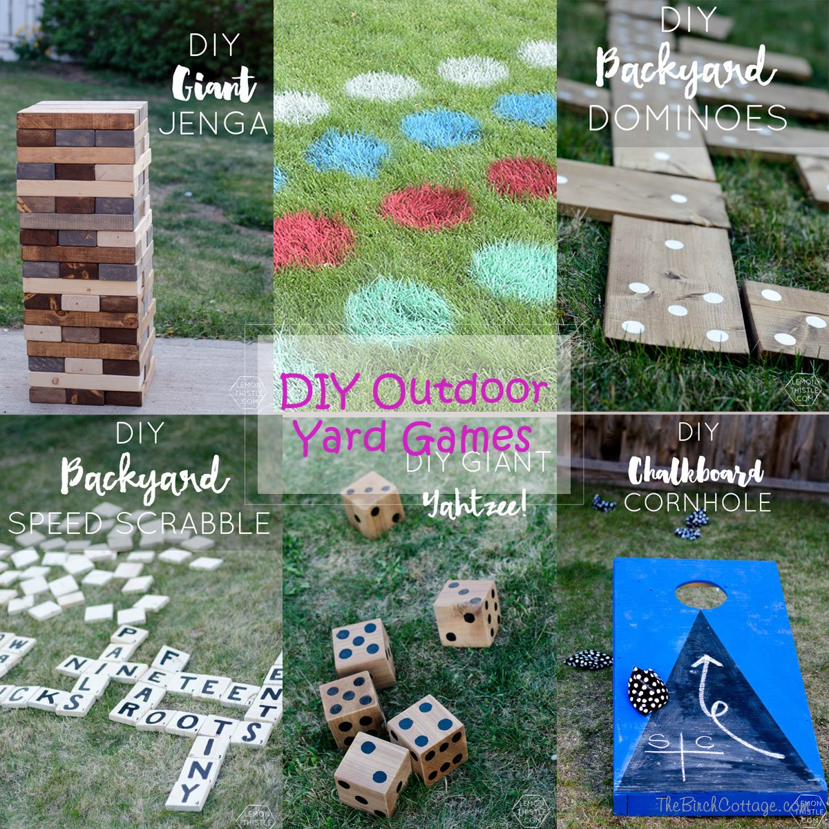 DIY Outdoor Yard Games