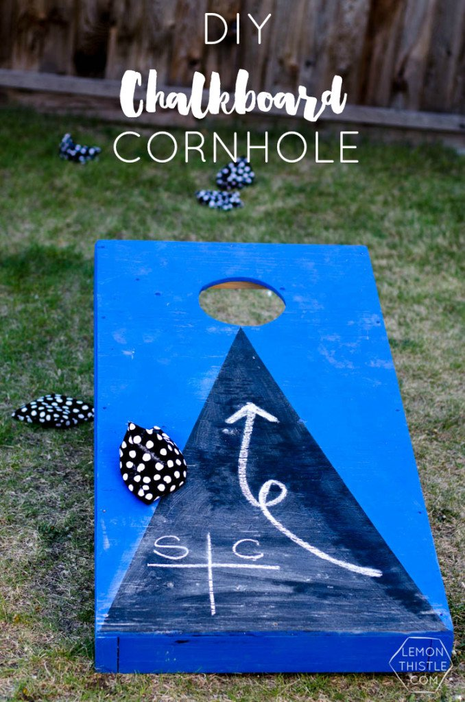 DIY Outdoor Yard Games - Cornhole