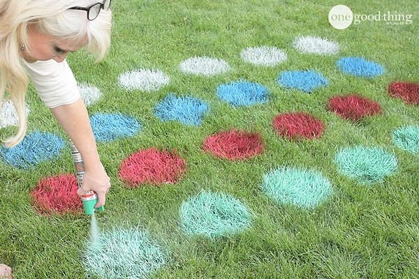 DIY Outdoor Yard Games - Twister