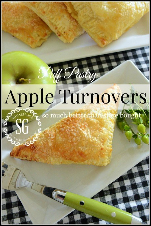 Apple Turnovers by Stone Gable Blog