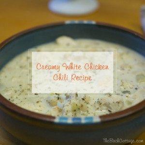 Creamy White Chicken Chili Recipe