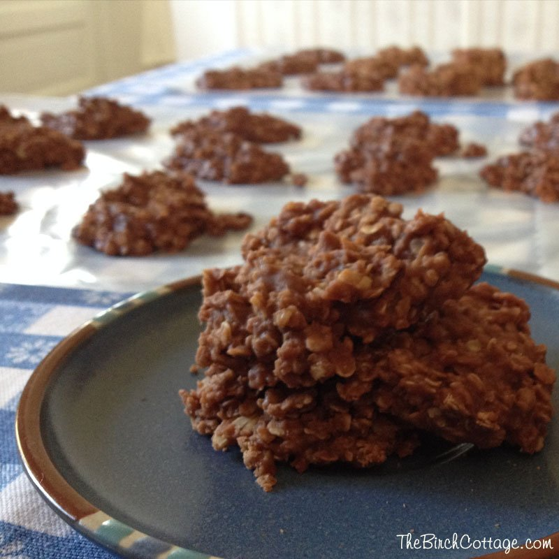 Perfect Every Time No Bake Cookies Recipe by The Birch Cottage