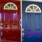 Our Front Door - Before and After