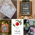 A Collection of Christmas Printables by The Birch Cottage