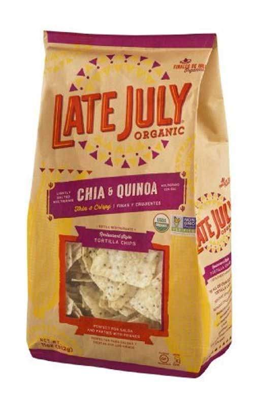 Late July Chia and Quinoa Organic Tortilla Chips