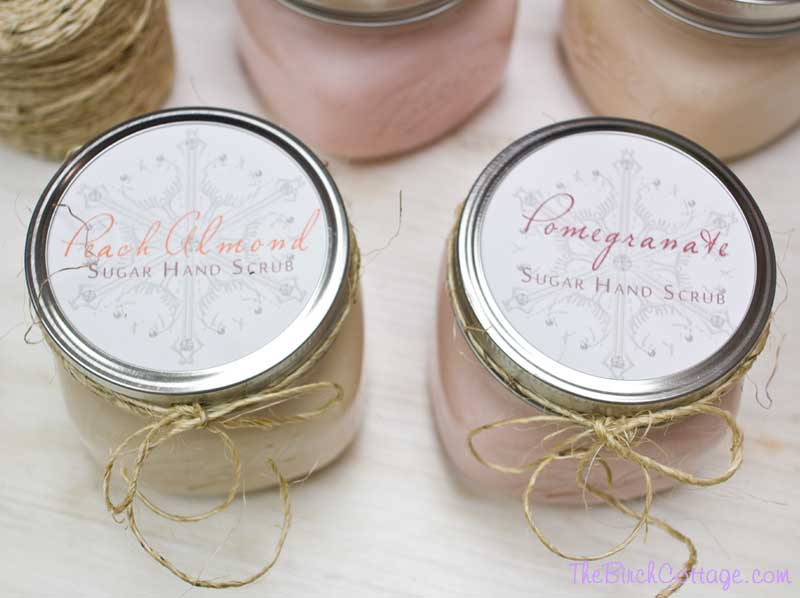 DIY Sugar Hand Scrub by The Birch Cottage