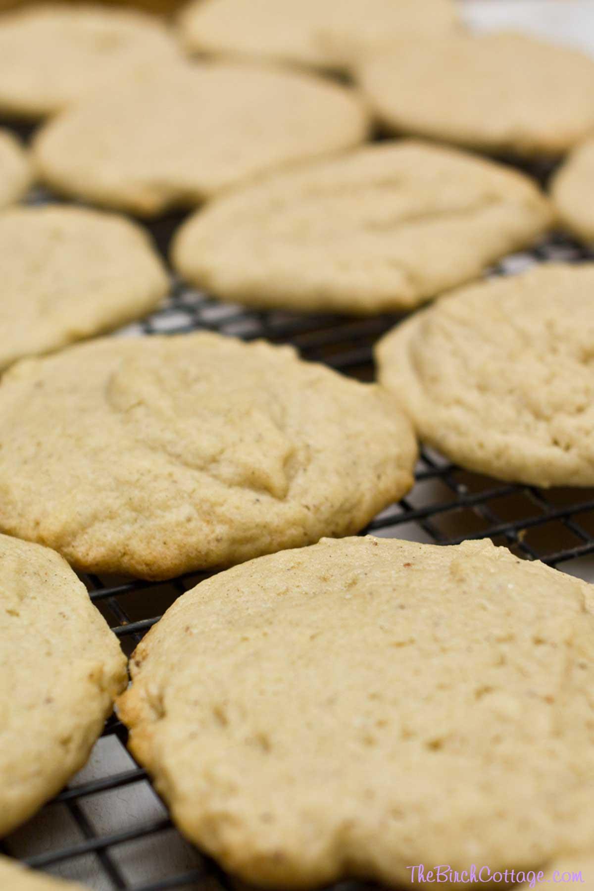 Eggnog cookies recipe rum extract