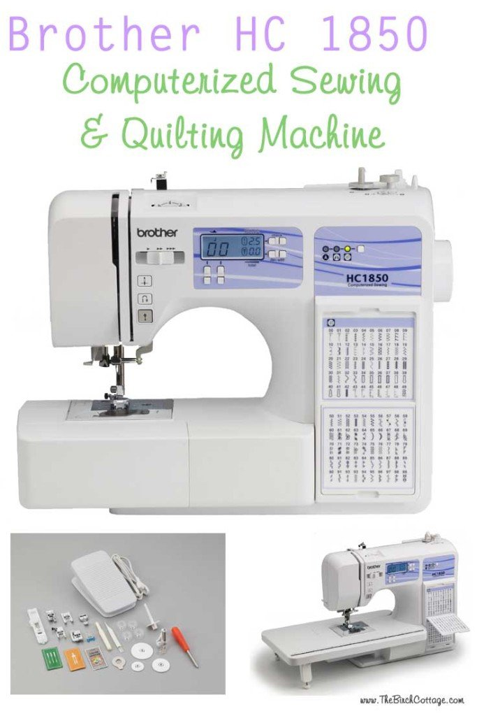 Brother HC 1850 Computerized Sewing and Quilting Machine