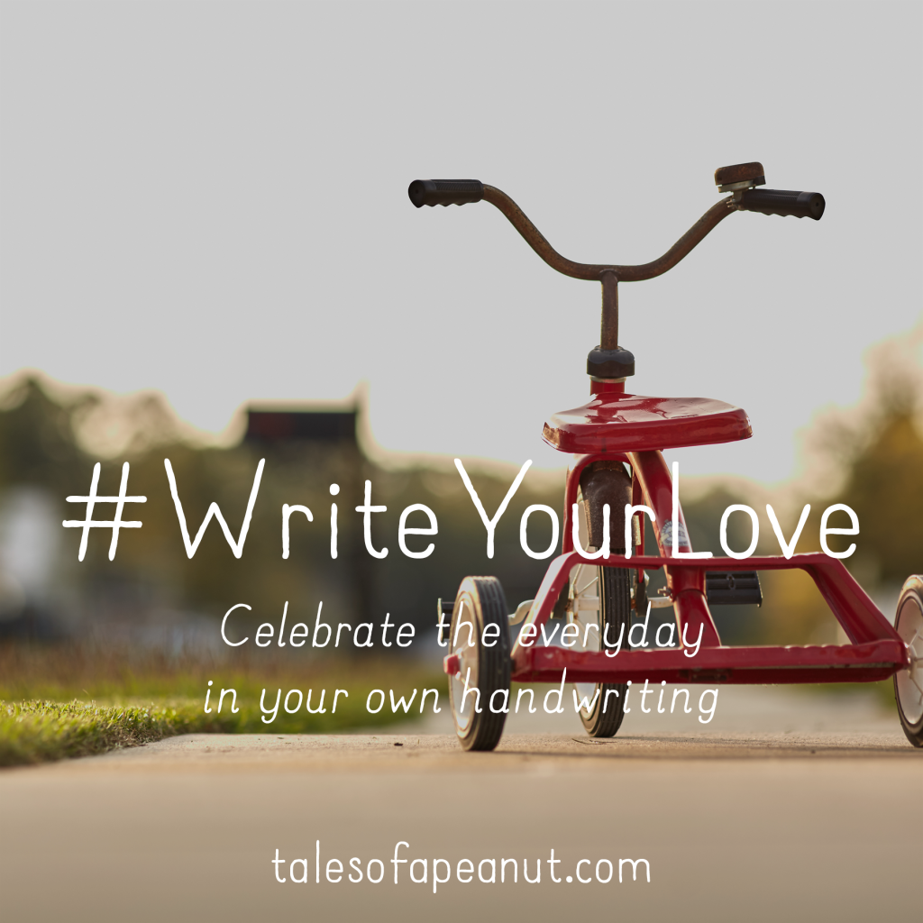 Tales of a Peanut - #WriteYourLove Definition