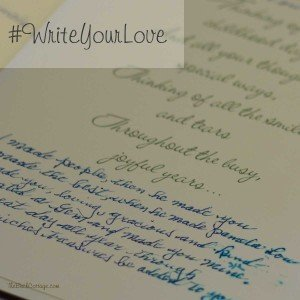 #WriteYourLove and a Valentine's Day Blog Hop