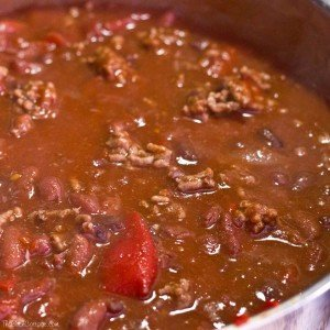 Warm those cold winter nights with homemade chili from The Birch Cottage.