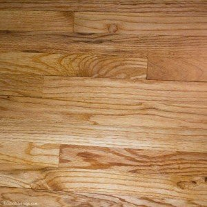 Refinishing Wood Floors on The Birch Cottage