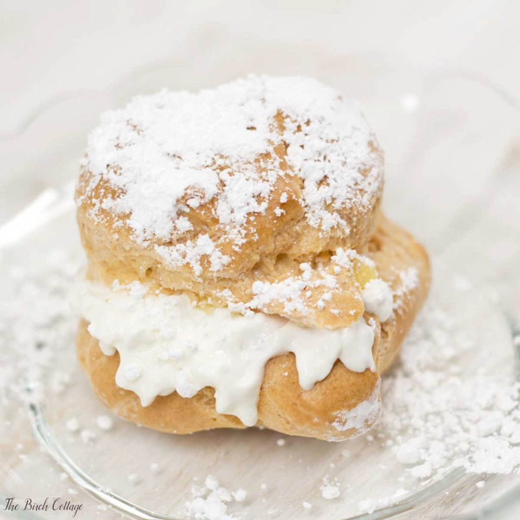 Cream Puffs Recipe by The Birch Cottage