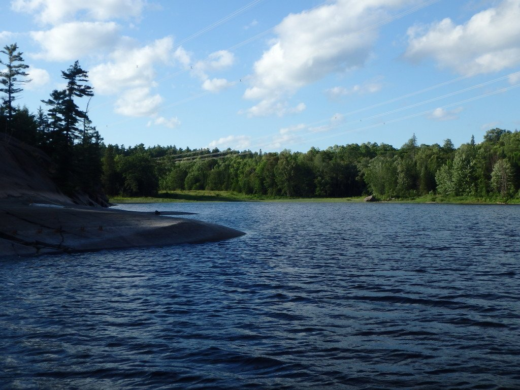 The French River by The Birch Cottage