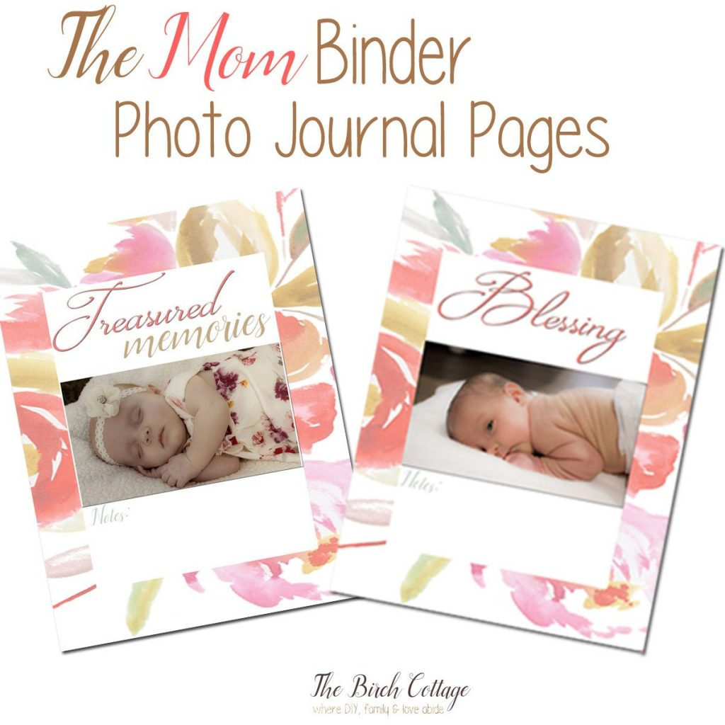 The Mom Binder by The Birch Cottage is a great way to keep your children's school papers, artwork and masterpieces!