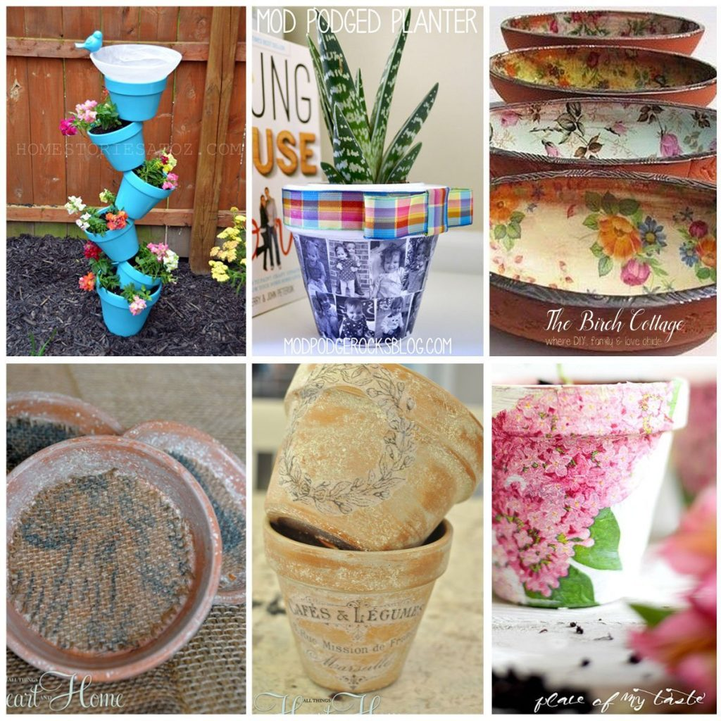 These DIY Terra Cotta Pot Ideas are perfect gift ideas for Mother's Day or anytime!