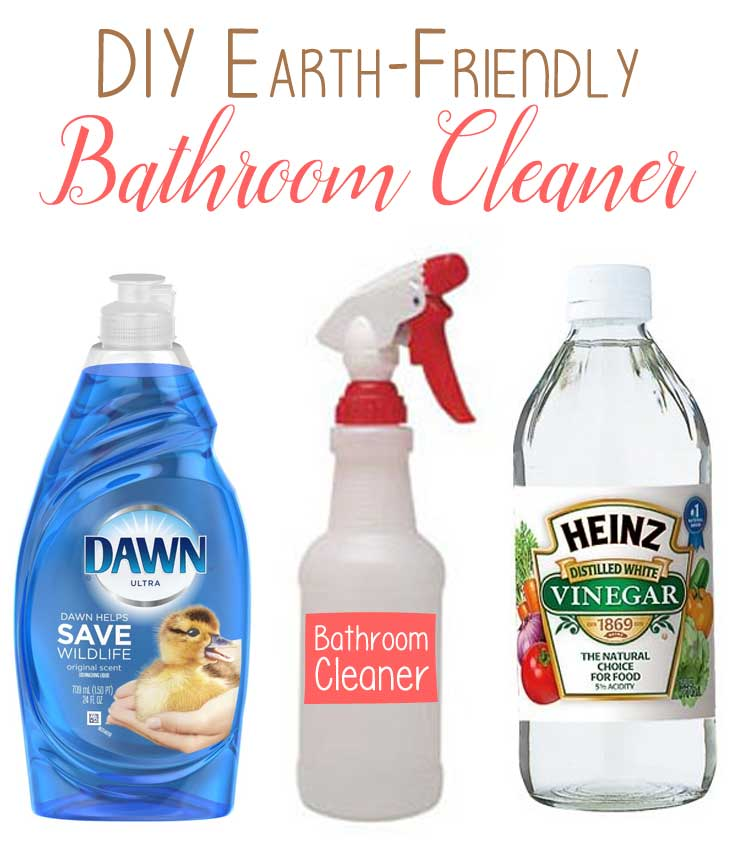 DIY Bathroom Cleaner by The Birch Cottage is earth-friendly
