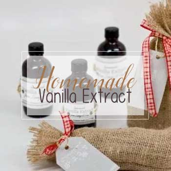 Homemade Vanilla Extract by The Birch Cottage