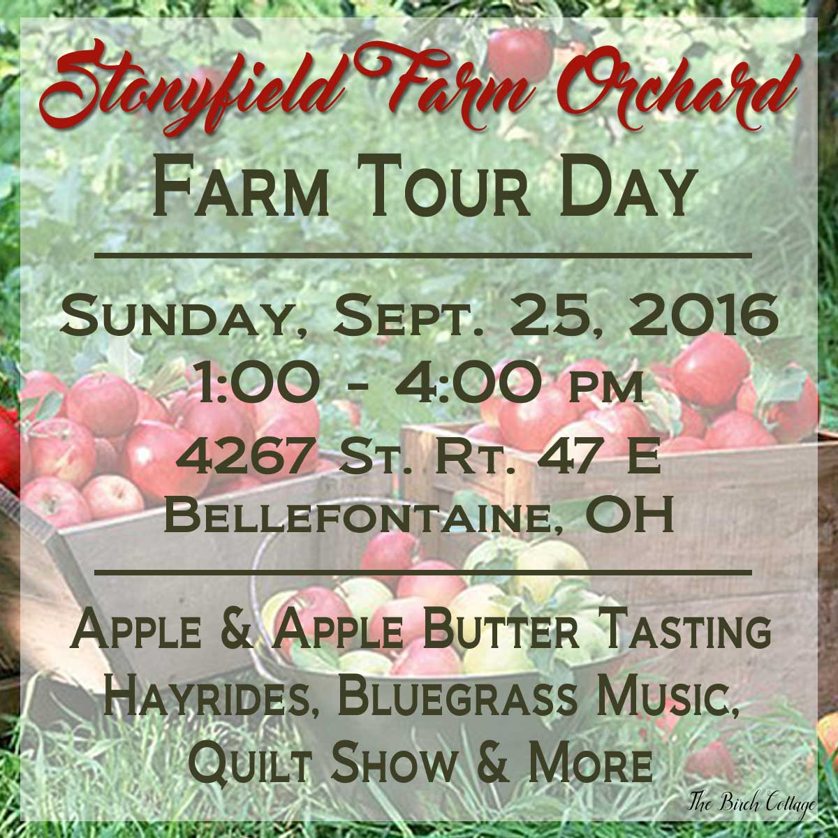 Stonyfield Farm Orchard