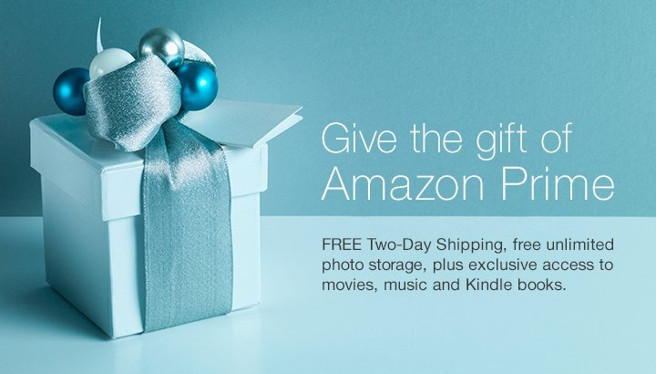 Give the gift of Amazon Prime Membership - 2016 Christmas Gift Guide for Men by The Birch Cottage