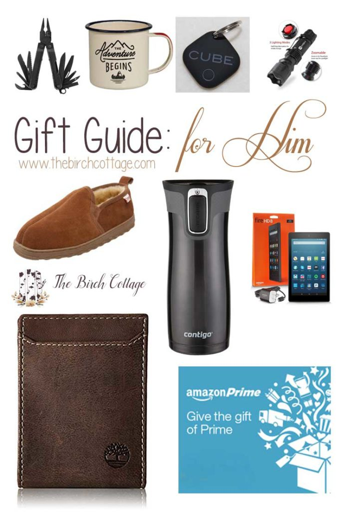 Christmas Gift Guide for Him for 2016 by The Birch Cottage