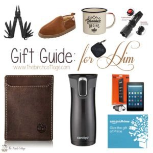 Christmas Gift Guide for Men for 2016 by The Birch Cottage