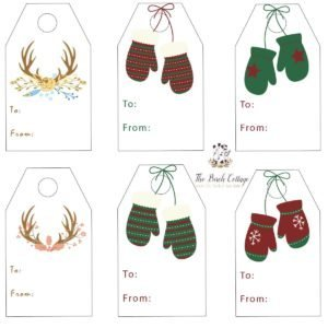 Christmas Gift Tags by The Birch Cottage