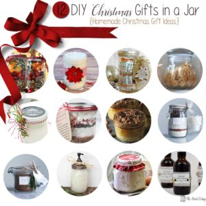 DIY Christmas Gifts in a Jar – Homemade Christmas Gifts