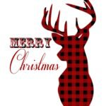 Free Plaid Believe Christmas print from The Birch Cottage