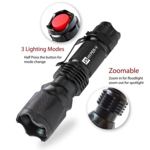 Tactical Flashlight Christmas Gift Guide for Men 2016 by The Birch Cottage