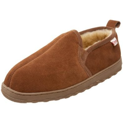 Tamarac by Slippers International Men's Cody Sheepskin Slipper Christmas Gift Guide for Men by The Birch Cottage