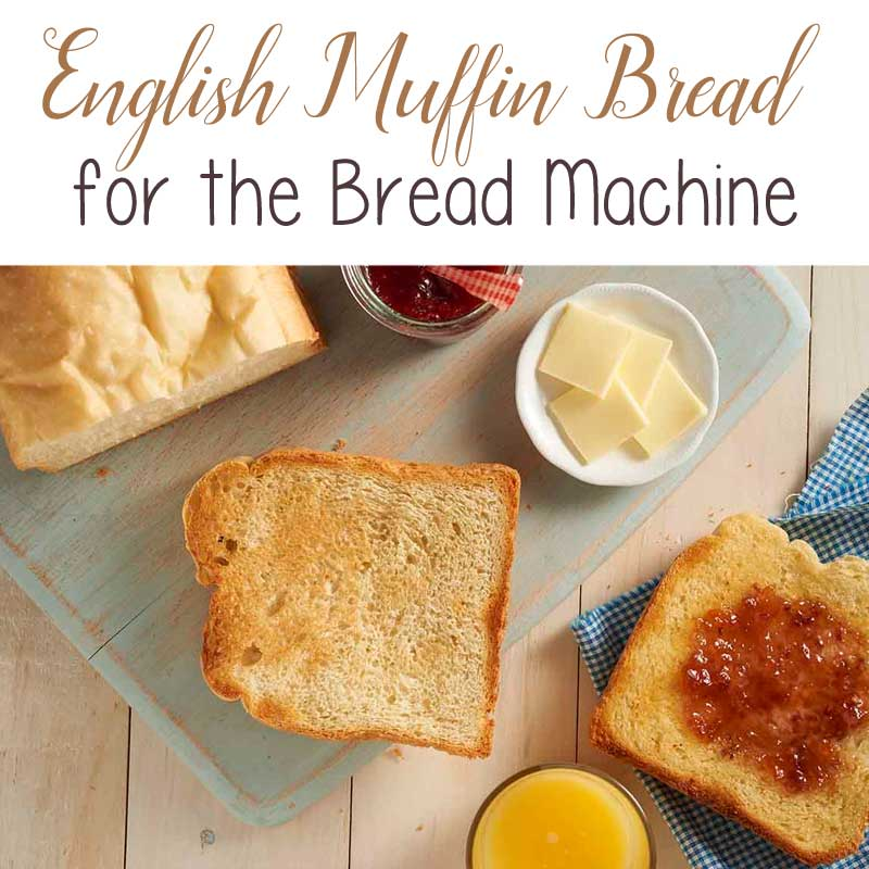 English Muffin Bread Recipe For The Bread Machine The Birch Cottage