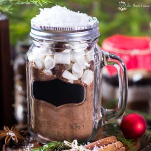 Homemade Hot Chocolate Mix Recipe with Labels