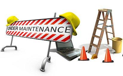 Site Undergoing Maintenance