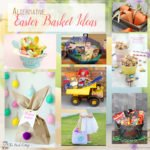 A collection of alternative Easter basket ideas from The Birch Cottage